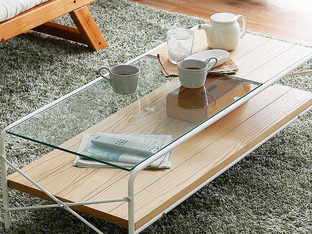 LOWYAのガラステーブルは強化ガラス