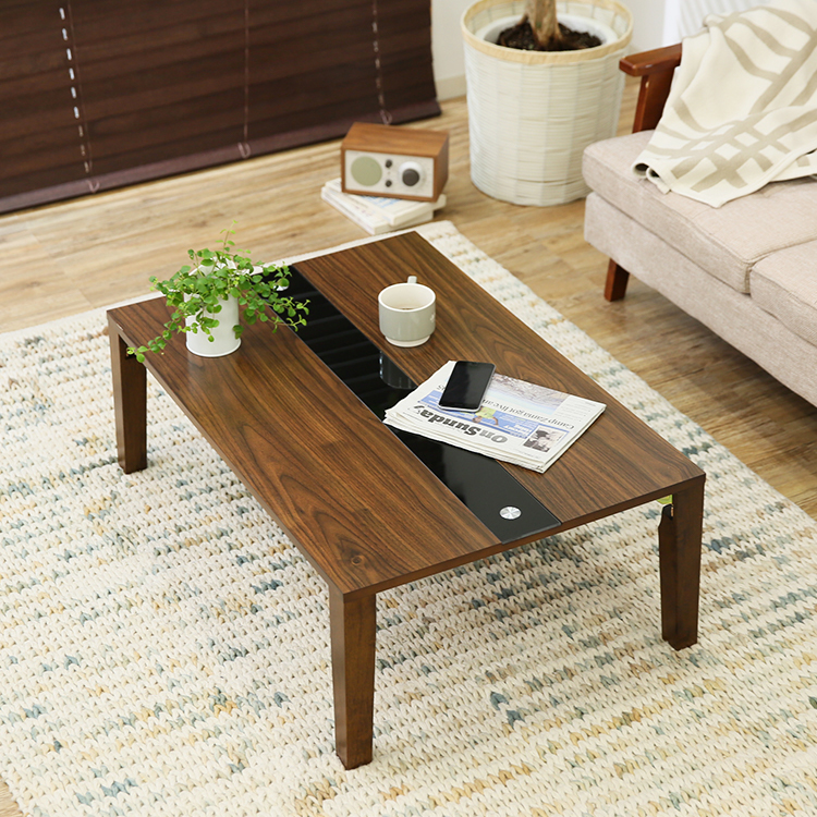 折りたたみテーブルに見えないデザイン