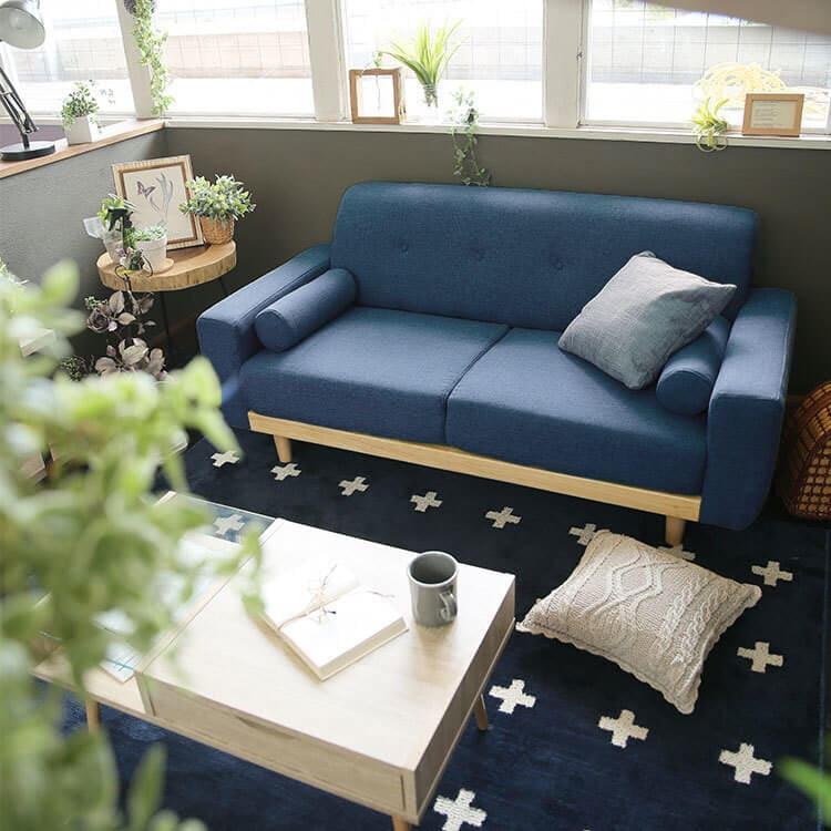LOWYAのソファはカラーバリエーションが豊富