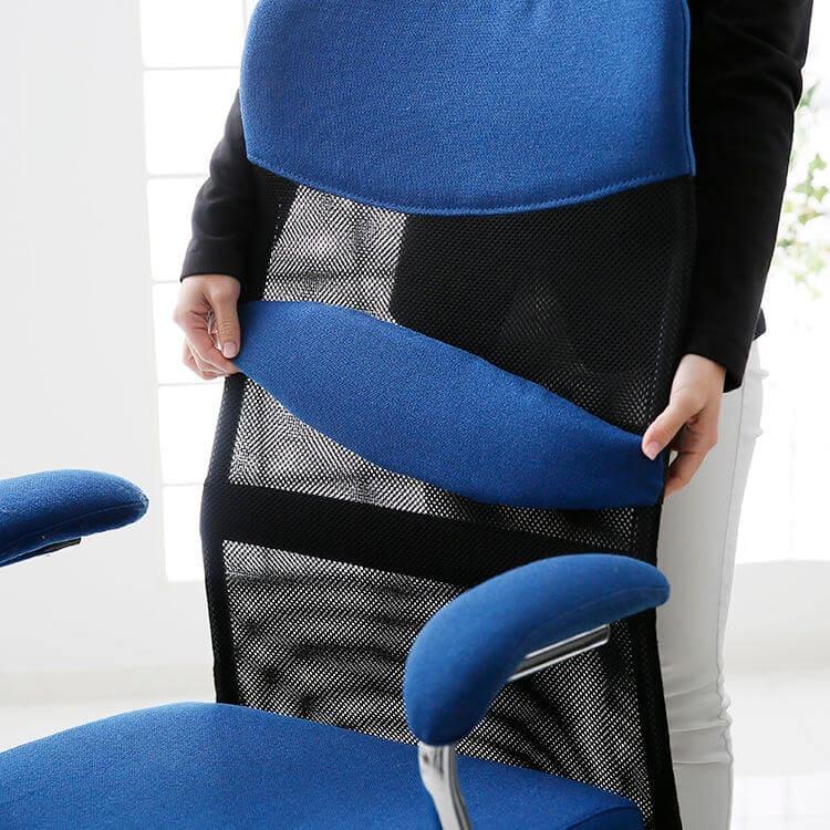 調整可能な腰クッション