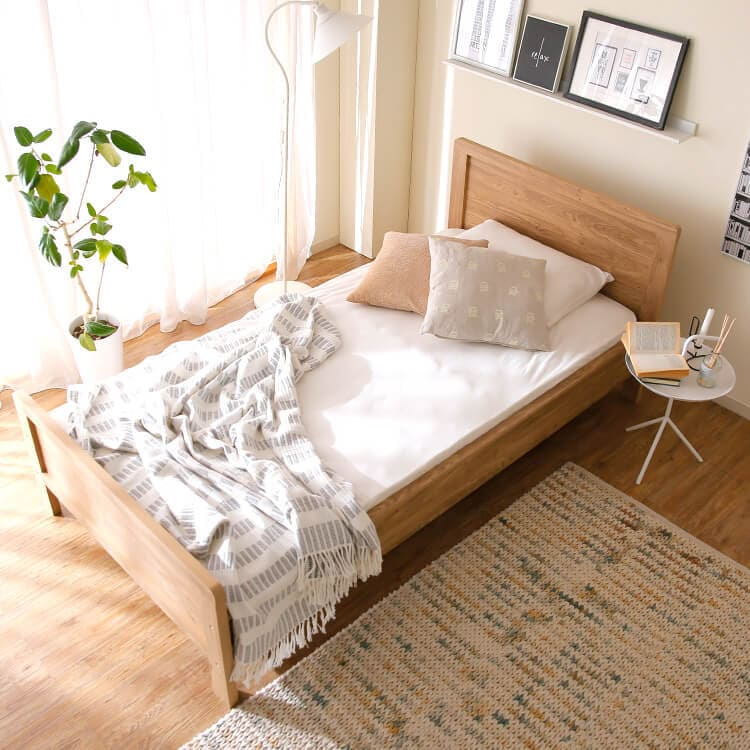 LOWYAのシングルベッド