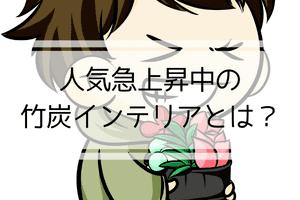 おしゃれな竹炭インテリア