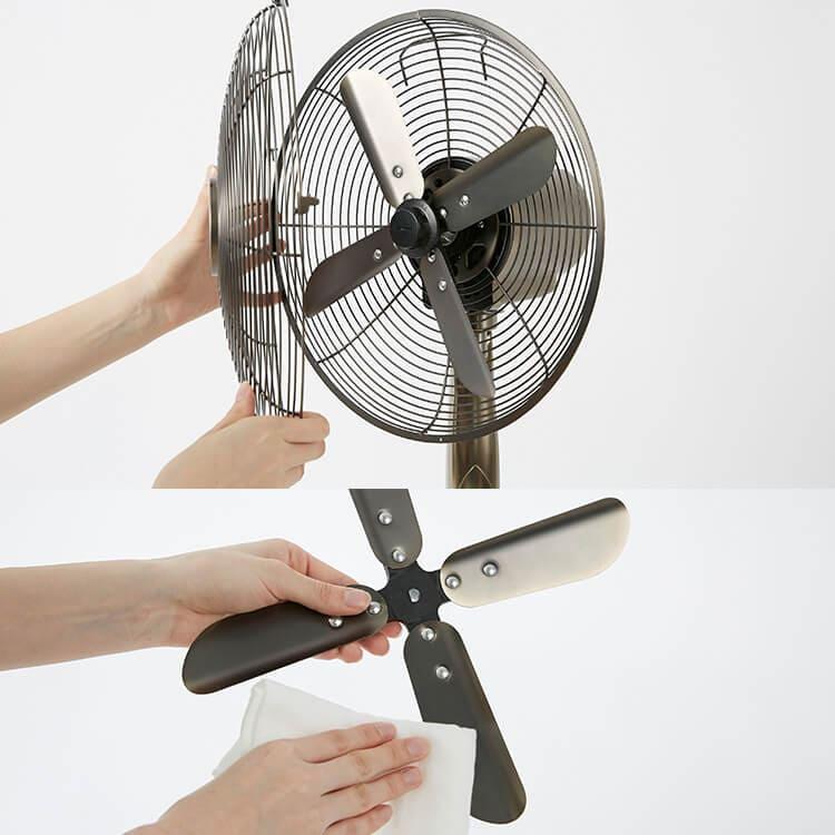 LOWYAの扇風機は4枚羽